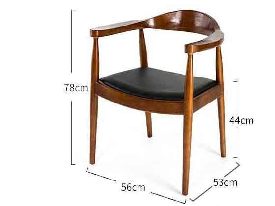 阅览椅尺寸尺寸-品源会议椅