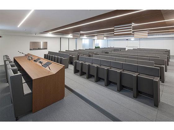 报告厅会议椅-品源礼堂椅