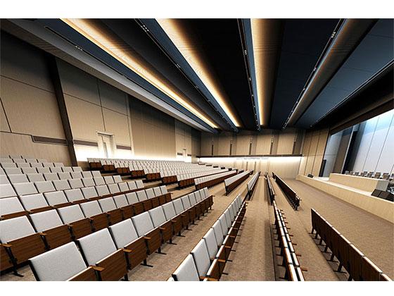 演讲厅座椅-品源礼堂椅