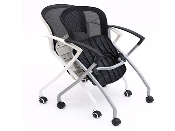 带写字板椅子-品源培训椅