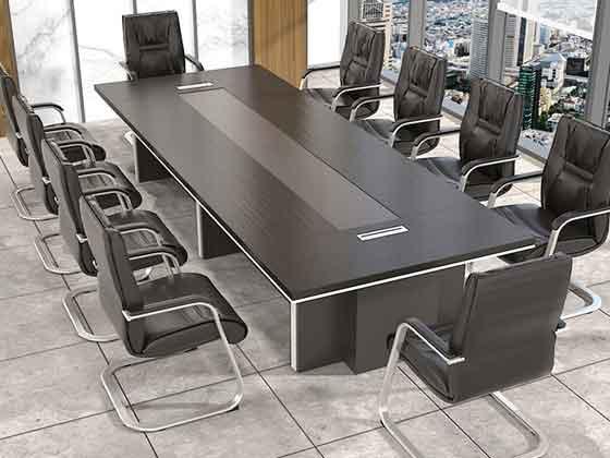 条桌木皮烤漆会议桌-会议桌-品源会议桌
