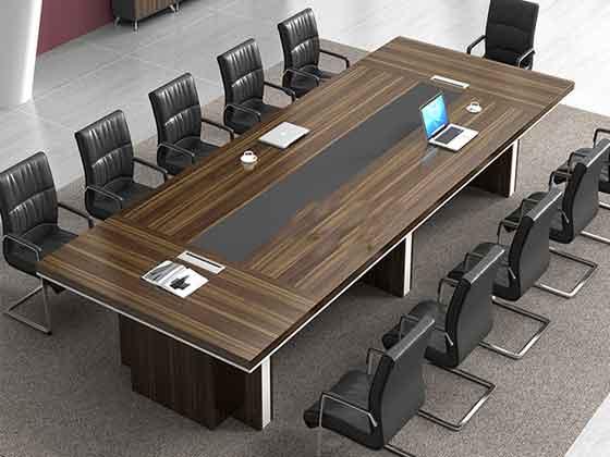 大型实木贴皮会议桌-会议桌定制-品源会议桌