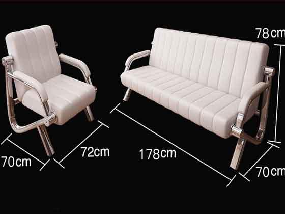 总裁室真皮办公沙发尺寸-办公沙发-品源沙发