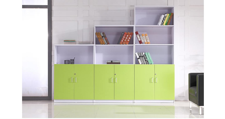 高低文件柜-品源板式办公文件柜