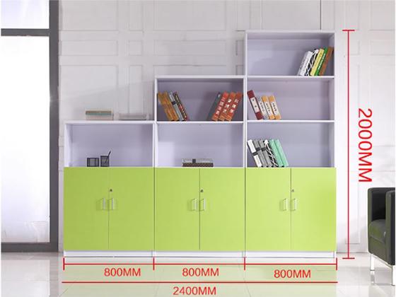 高低储物柜尺寸-品源板式办公文件柜