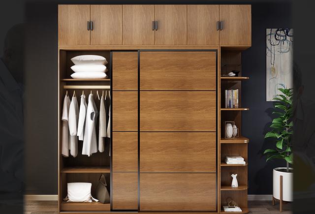 經理室衣柜尺寸_總裁辦公室衣柜設計