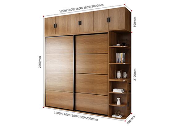 总裁办公室衣柜设计尺寸-品源衣柜