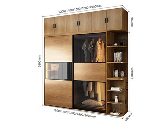 办公用家具衣柜尺寸-品源衣柜