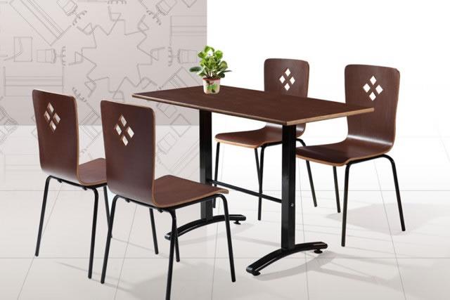 上海咖啡厅桌椅 小吃店餐桌椅 小户型餐厅桌椅组合 WCZY003-品源