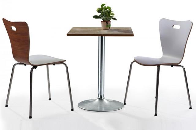 2人阳台餐桌椅 酒吧餐桌椅 甜品店桌椅 咖啡厅方形桌椅 WCZY007-品源
