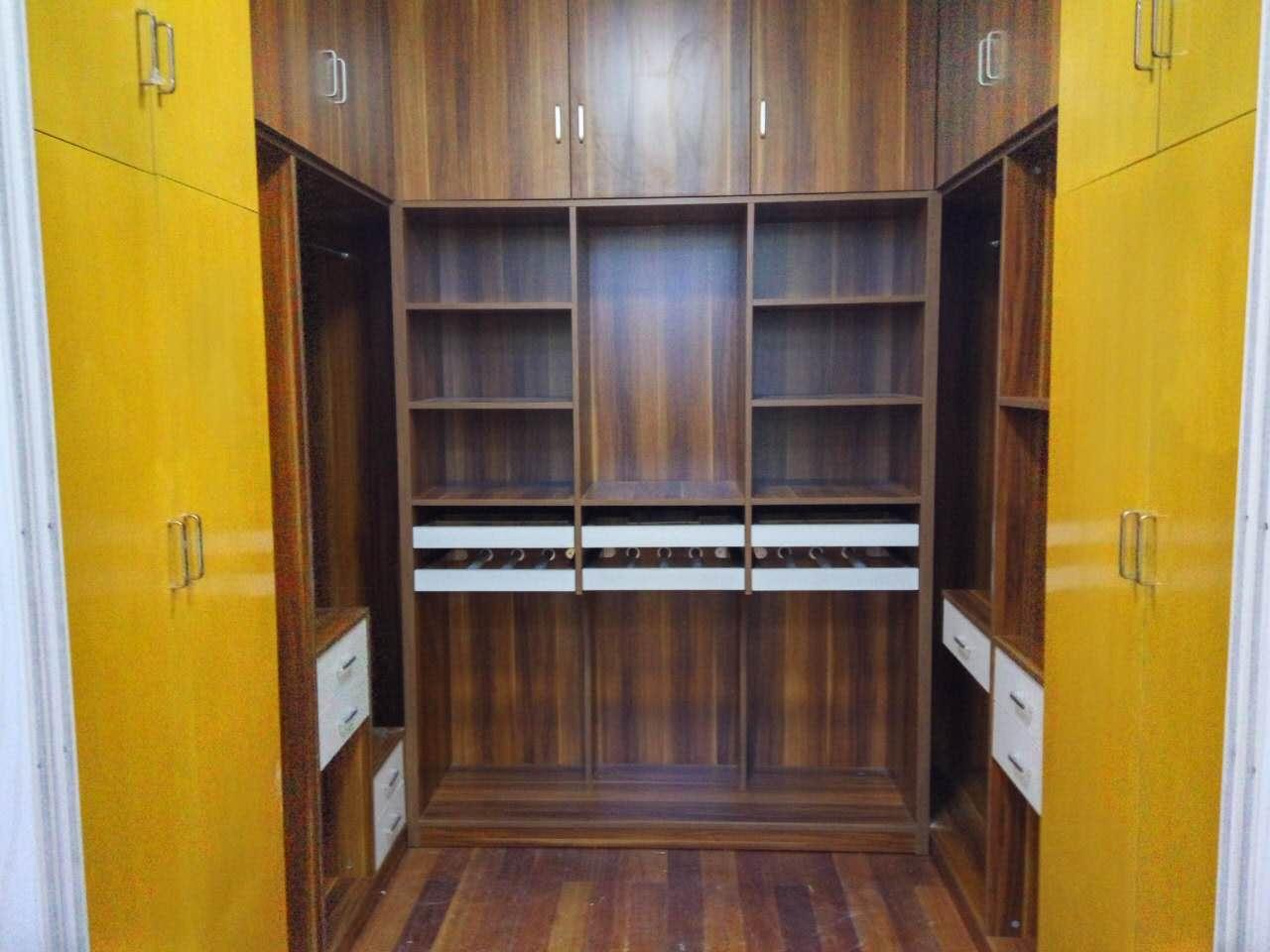 多层板式更衣柜 多功能储物柜 免费配送安装 WJG160613