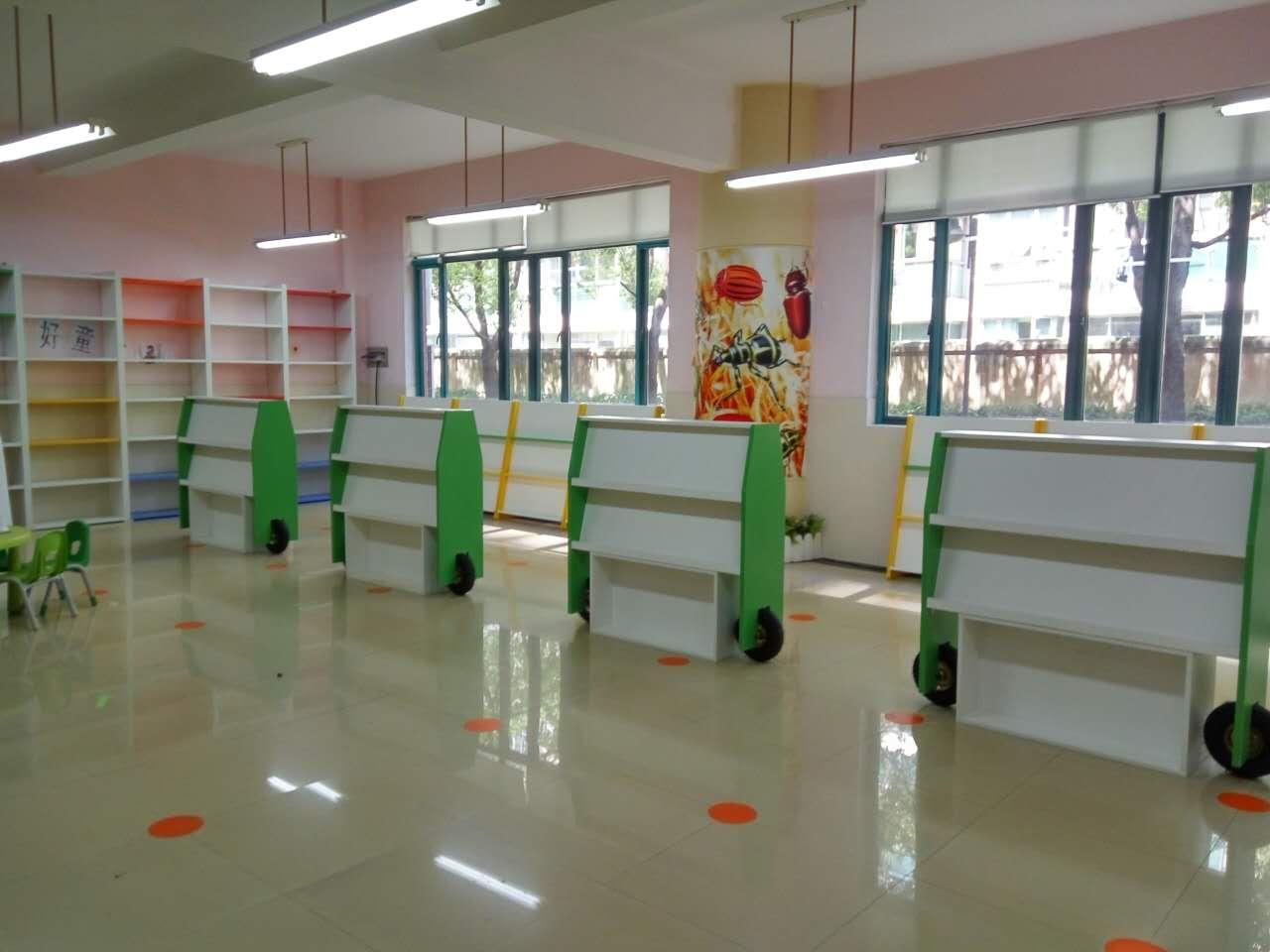 早教中心置物架 图书展示柜 儿童刊物展示栏 ZJZX16042601-品源