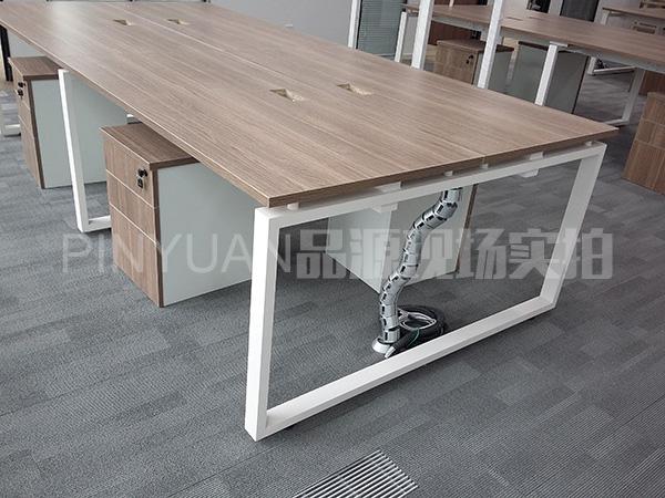 定做员工办公桌 结构简单办公桌 上海办公桌 PF1600203-品源
