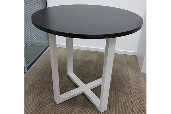 创意办公小茶几 黑色圆形矮几 办公室小茶几 CJ160101-品源