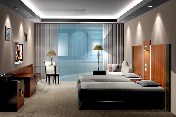 板式酒店家具 商务宾馆家具 宾馆客房家具 JD151110-品源