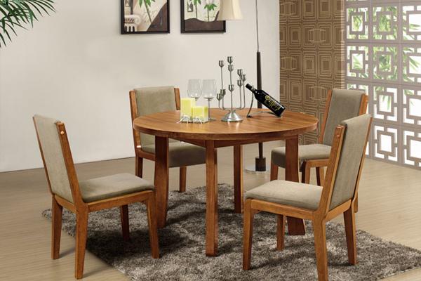 圆形餐桌椅 软垫椅 配套餐厅桌椅组合 CT151120-品源