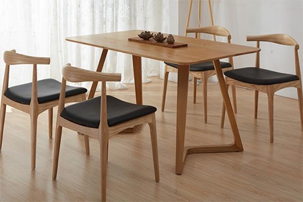 曲木餐厅桌椅 简约木质餐桌椅 咖啡屋桌椅 CT151106-品源