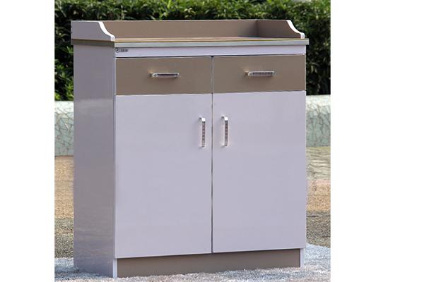白色烤漆餐边柜 板式碗筷柜 双开门茶水柜 CT151103-品源