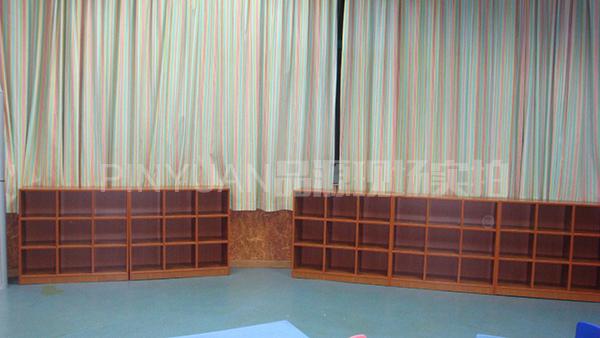 早教中心玩具架 书包架 木质置物架 ZJZX110303-品源