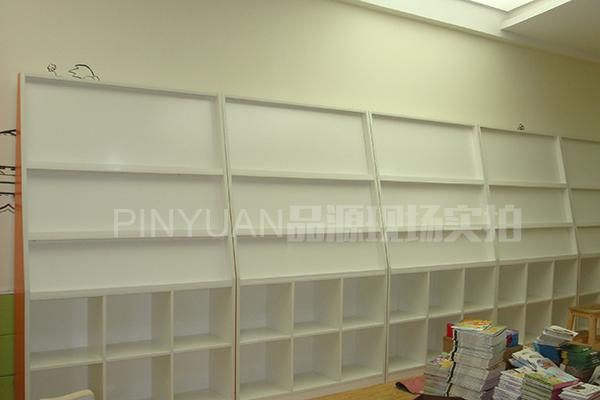 早教中心格子柜 图书展示柜 绘画作品展示栏 ZJZX110304-品源
