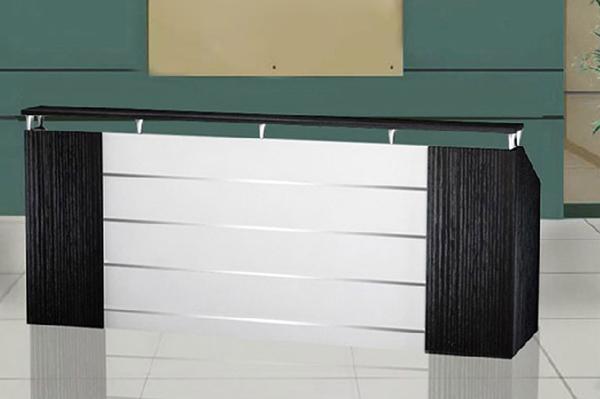 前台接待桌 公司咨询服务台 防火板长方形前台 QT110605-品源