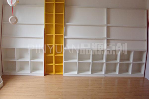 早教中心置物架 格子玩具架 教室书包架 ZJZX110301-品源