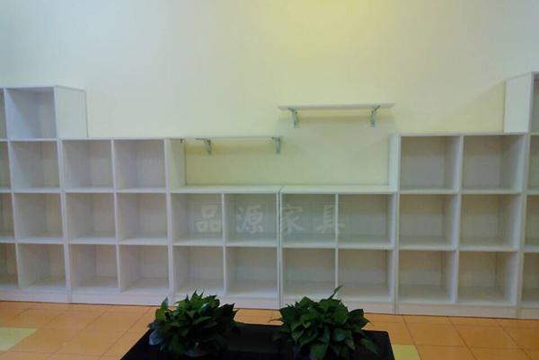早教中心格子小柜 校园卡通玩具架 亲子早教书包柜 ZJZX15102802-品源