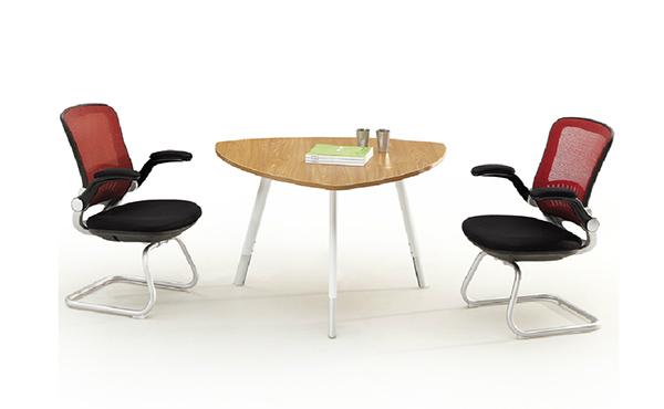 三角形阅览桌 简约时尚阅览桌 小型洽谈桌 YL151003-品源