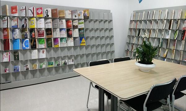 期刊书架 学校图书馆书架 钢制双面书架 SJ151004-品源