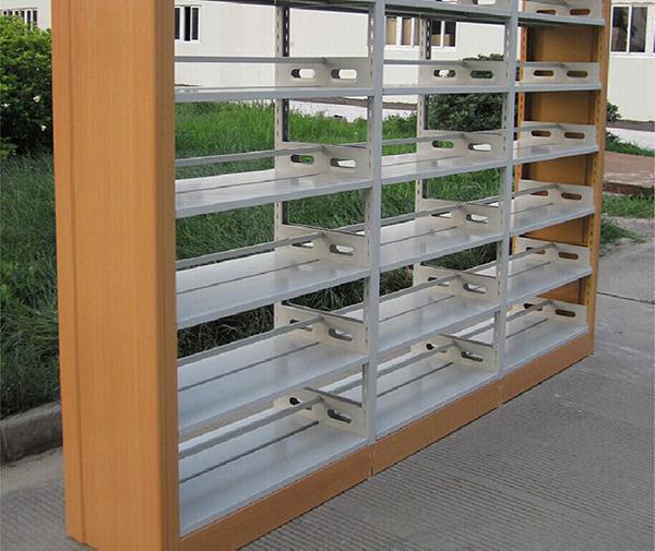 木质边框书架 书店书架 双面书架 SJ151002-品源