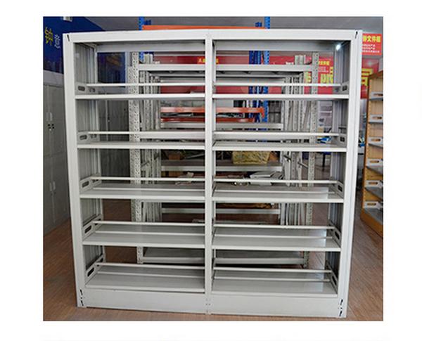 钢制书架 双面书架 阅览室书架 SJ151001-品源