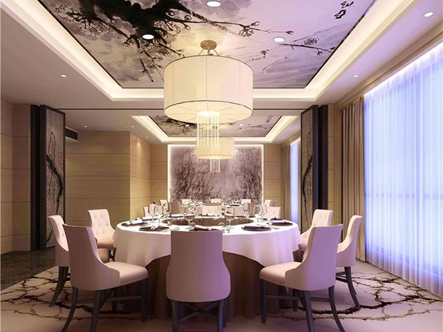 上海中餐厅家具 中餐厅桌椅配套 大型宴会圆桌 CT150901-品源