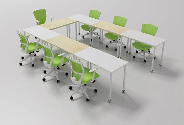 组合式会议桌 板式会议桌 长方形会议桌 QTZ150902―品源