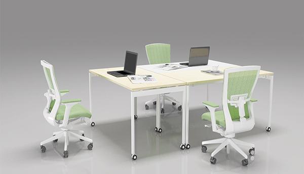 移动会议桌 小型会议桌 时尚会议桌 QTZ150905―品源