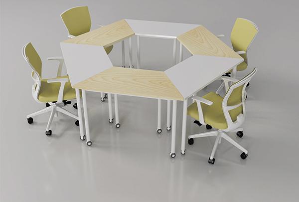 小型会议桌 拼接会议桌 创意会议桌 QTZ150901―品源