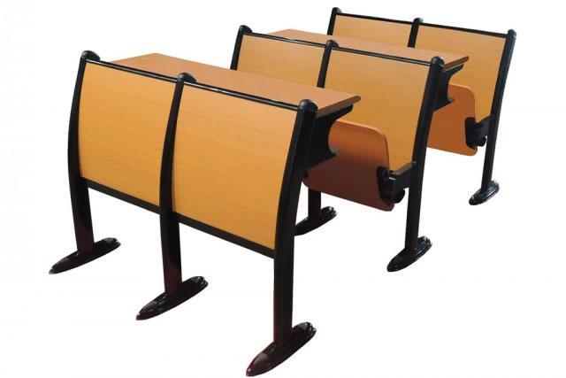 阶梯教室课桌椅 阶梯教室会议桌椅 两座大学生课桌椅 KZY150914-品源