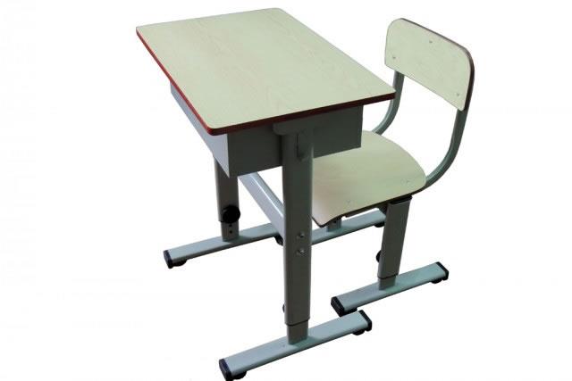 学生课桌椅 钢木结构课桌 老式课桌 培训班课桌 KZY150904-品源