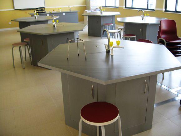 实验室家具 团队讨论课桌椅 实验室课桌 KZY150923-品源
