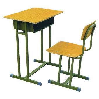 学生课桌椅 中小学生课桌椅 铁架桌椅 教室课桌椅 KZY150920-品源
