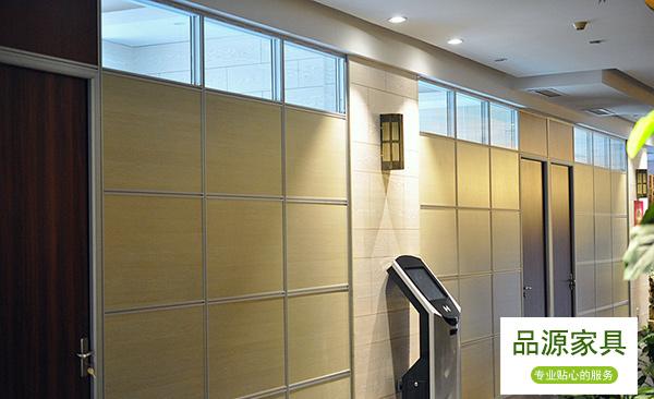 面板高隔断 铝合金框架高隔断 酒店高隔断 GGD150912―品源