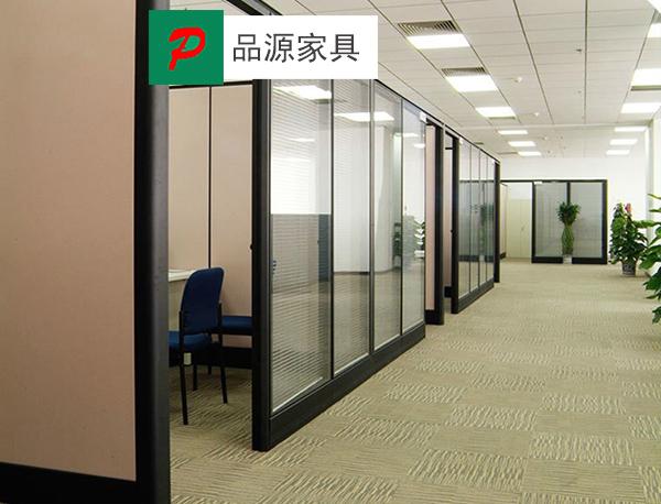 铝合金框架高隔断 玻璃高隔断 百叶隔断 GGD150910—品源