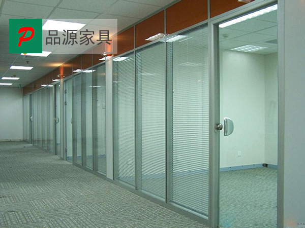 简易高隔断 百叶隔断 室内办公隔断 GGD150913―品源