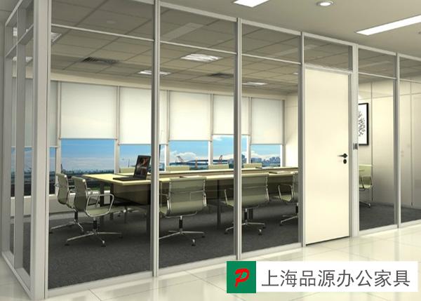透明玻璃隔断 会议室高隔断 接待室高隔断 GGD150914―品源