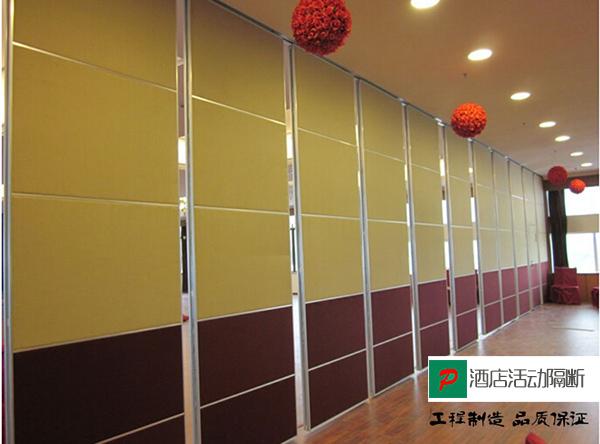 大型酒店移动隔断 上海移动隔断屏风 酒店高隔断墙 GGD092503-品源