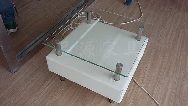 玻璃茶几 小型茶几 方形茶几 CJ150802―品源
