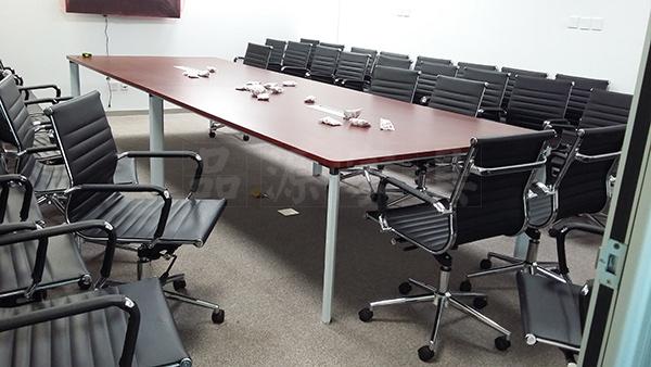 五星脚会议椅 黑色会议椅 简约式会议椅 HYY150802―品源