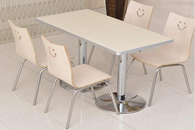 上海快餐桌椅 教职工餐厅桌椅 学校餐厅桌椅 WCZY022-品源