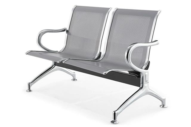 全钢沙发椅 银行等候椅 双人位等候椅 DHY023―品源