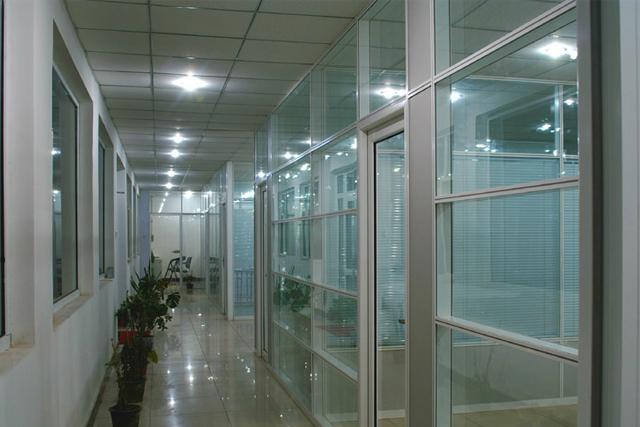 上海高隔断定制 办公室百叶隔断 会议室隔断间 WGGP020-品源