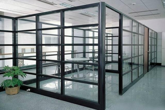 上海玻璃隔断办公室 办公室高隔间 钢化玻璃高隔断 WGGP012-品源